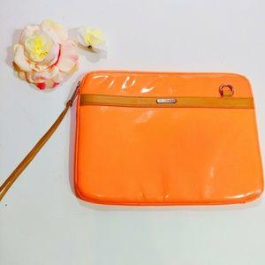 Rebecca Minkoff Laptop Sleeve/Bag Neon Orange
